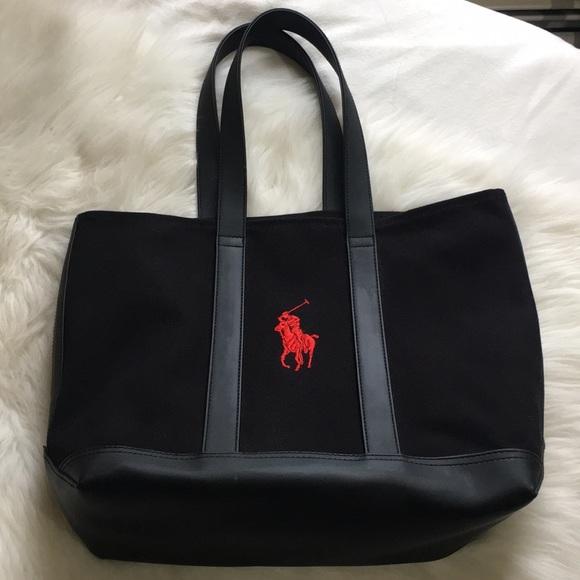 a379acfb15 Polo Ralph Lauren tote bag EUC. M 5bd8b5a6619745ca39ed7a38